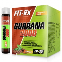 Энергетик FIT-RX Guarana 2000 25 мл.