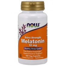 Антиоксидант NOW Melatonin 10 мг 100 капсул